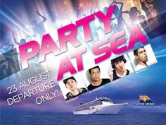 Get packed for non-stop party action from ship to shore. Party on the pool deck of SuperStar Virgo by night and on the beautiful beaches of redang by day. Dont miss this one-departure only extravaganza  Sailing Date: 23 Aug 2013 2-Night Redang Cruise(fri)  View offer here > http://www.starcruises.com/media/759815/eDM_STC2998.htm