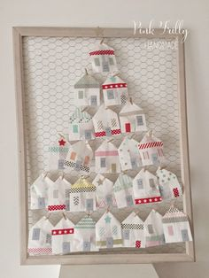 """Pink Frilly: """"Mamma, quand'è Natale?"""" #1 Pink Frilly's advent calendar - diy tutorial"""
