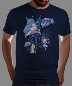 """My Neighbour Alice"" on Qwertee : Limited Edition Cheap Daily T Shirts 