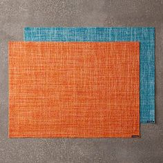In bright, exclusive-to-Bloomingdale's colors, these Chilewich Bouclé placemats feature a tweed-like finish one might find in a sweater, scarf or jacket. The unique weave lends a touch of rich texture to your table. #100PercentBloomies