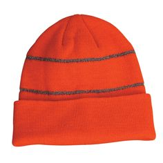 Code: 4376 Name: Hi Vis Reflective Beanie 4376 Available Colours: Orange | Yellow Description: Flying under the radar is a thing of the past with our Hi-Vis Ref