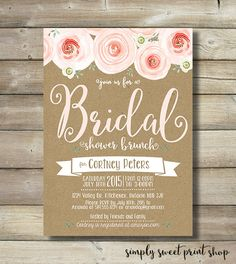 Hey, I found this really awesome Etsy listing at https://www.etsy.com/listing/243757208/bridal-shower-brunch-invitation-kraft