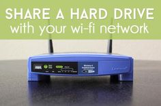 Take advantage of your router's USB port with a little trick that lets you share a hard drive with anyone on your Wi-Fi network.