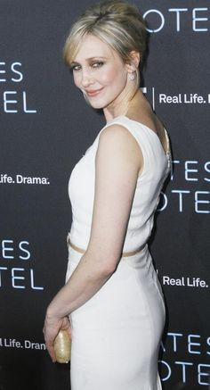 Vera Farmiga. 2013 Emmy Nominated Actress for Bates Motel. Looks good in very light blond and white. Summer Moon