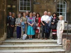 VWSGB members on a trip to King's College, Cambridge