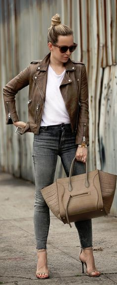 Foolproof // Leather Jacket: All Saints // Fashion Look by Brooklyn Blonde