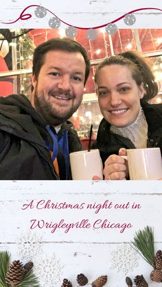 Christmas Night Out in Wrigleyville - A Couple Explores A Christmas Night Out in Wrigleyville Chicago