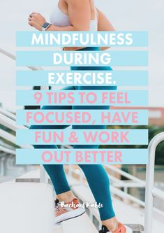 Have you ever wanted to incorporate mindfulness into your exercise routine? In this article, you'll discover 9 fun and simple tips to help you work out more mindfully, have more fun and focus better to make the most of your workouts! Benefits Of Exercise, Do Exercise, Regular Exercise, Exercise Routines, Better Posture, Good Posture, Fitness Goals, Fitness Tips, Lack Of Motivation