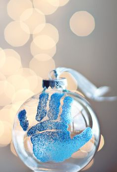 Baby's First Christmas - DIY ornament
