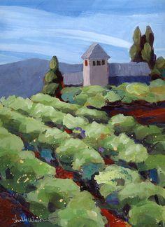 Vineyard Original Painting