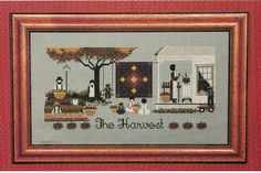 The Harvest counted cross stitch pattern by by ZimmergirlzBazaar