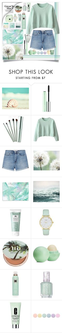 """""""Cute and Casual"""" by angelstylee ❤ liked on Polyvore featuring WALL, Clinique, Marc by Marc Jacobs, Origins, Kate Spade, Urban Decay, Eos, Rituals, Essie and Deborah Lippmann"""