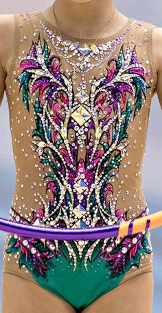 RG leotard close-up Gymnastics Costumes, Gymnastics Outfits, Dance Costumes, Gym Leotards, Rhythmic Gymnastics Leotards, Dance Outfits, Dance Dresses, Figure Skating Dresses, Ballroom Dress