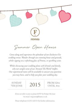 Fennes Open House