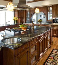 Anchorage, Alaska, kitchen designed by Valerie Rizzo, ASID CKD