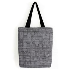 Tote with Melbourne buildings