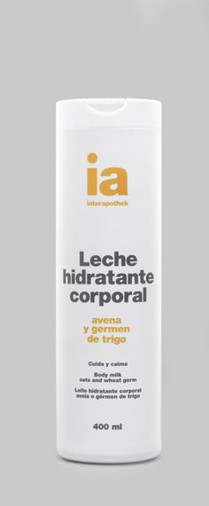 Leche #hidratante corporal de #avena y trigo, proporciona a tu piel la #belleza del #equilibrio