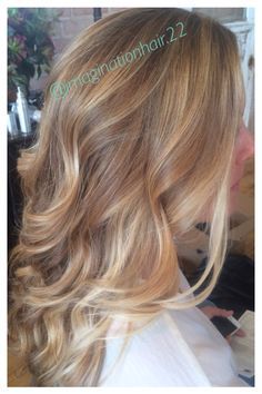 Blonde Balayage highlights done by Hollie Williams. @imaginationhair.22. #balayage #highlights #blonde #guytang