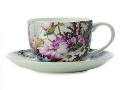 The Maxwell & Williams William Kilburn Coupe Cup & Saucer, Ocean Fantasy Gift Boxed will take you on a journey the next time you have a cup of tea. Tea Cup Saucer, Tea Cups, Maxwell Williams, Coffee Mugs Online, Fantasy Gifts, Victorian Gardens, Dining Decor, Mug Cup, Dinnerware