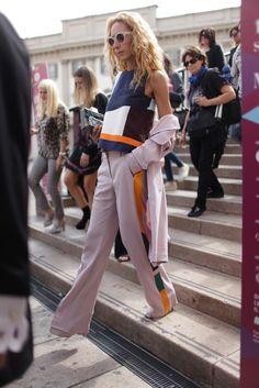 Milan Fashion Week MFW Street Style Kuba Dabrowski