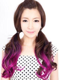 Wave Dip Dying Hair Extension - Korean Fashionista