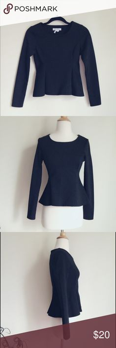 """BCBGENERATION black professional top Basic and simple top with formal and professional look. Pure black, 70% poly, 25% rayon, 5% spandex. Fabric is thick and stretchy. Size S, chest 16"""", length 20"""". Never been worn. 🚫no trade BCBGeneration Tops"""