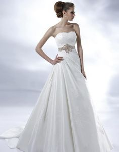 Not sure this one is quite my style, but very pretty still. Bridal Dresses, Wedding Gowns, Girls Dresses, Flower Girl Dresses, Prom Dresses, Bridesmaid Dress Colors, Dream Wedding, Spring Wedding, One Shoulder Wedding Dress