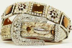 Brindle bronze rhinestone belt  Just got it ✔ love it!♡