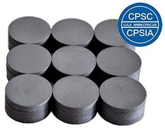 Creative Hobbies Ceramic Industrial Magnets 11 16 Inch 709 Round Disc 3 16 Thick 198 Or 5mm Ferrite Magnets Bulk For Science Education Whole