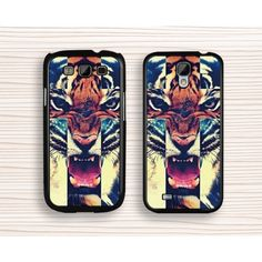 tiger Samsung case,art tiger Galaxy S3 case,fierce tiger,Galaxy S4 case,tiger Galaxy S5,tiger Note 3 case,samsung Note 2 case - Samsung Case