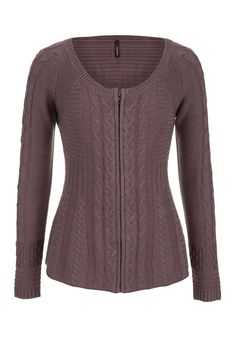 Zip front cable cardigan - maurices.com