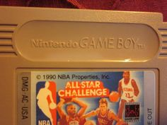 NBA All Stars playing right with you! game cartridge from original owners mothers smoke free, pet free home. Xbox Games, Nintendo Games, Stars Play, Nba Memes, Derrick Rose, Larry Bird, Detroit Pistons, Oklahoma City Thunder, Game Boy