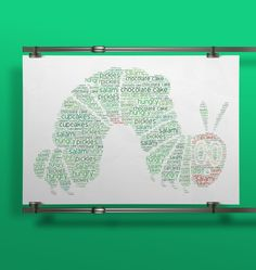 Love this #hungrycaterpillar for a #kidsroom!! #wallart #decor #interior #kidsroom #kidsdecor #creative #wordart #print #poster #childrensbook