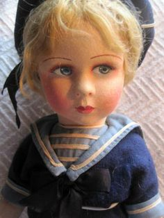 French Raynal doll Excellent condition 17 inches , Dolls Antique