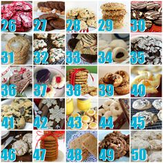 50 Best Christmas Cookies #Christmas #Holiday #Cookies #Recipe - A Helicopter Mom
