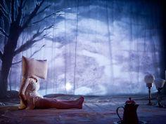 """""""Edredon"""", espetáculo da companhia canadense Les Incomplètes que se apresenta no II Festival Internacional de Teatro para Bebês (Foto: Nicola Frank Vachon / Divulgação)"""