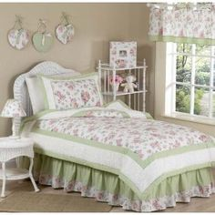 This is the bedding I have for my girls bedroom, I love it!!!