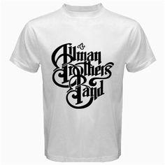 Allman brothers band rock white tshirt Size S M L XL 2XL  3XL 4XL and | butikonline83 - Clothing on ArtFire