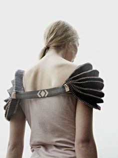 Jessica Leclere of Chelsea College of Art and Design -- graduate collection 2012