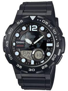 e9f4eccca0e Relógio Masculino Casio SGW-100-1VDF Digital - Resistente à Arranhões com  Cronógrafo e Bússola