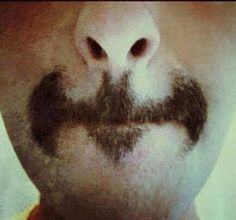 thank god the hubby didn't see or think of this at the beginning of the month Growing A Mustache, Marriage Material, Movember, Kids Tv, Hilarious, Funny, Me Time, How To Take Photos, Make Me Smile