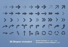 Free Vector Arrows Set - Vol 1  Just what I was looking for ; - )