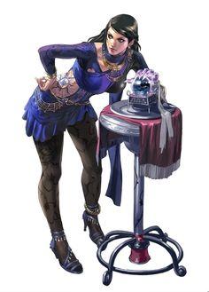 Who is down for some fights? Fantasy Characters, Female Characters, Tekken Girls, Street Fighter Tekken, Tekken 7, Video Games Girls, Anatomy Poses, Martial Artists, Samurai Warrior