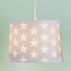 Easy Fit Ceiling Shade - Grey Star