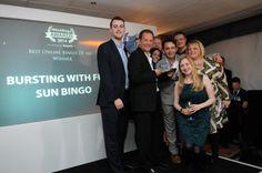 WhichBingo Awards Best TV Ad winners Sun Bingo