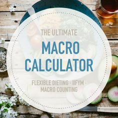 Calculate your macro