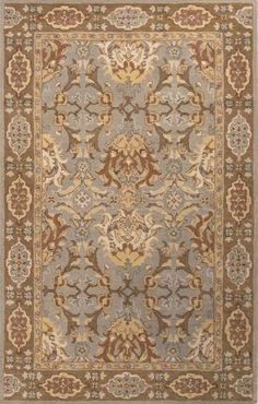 Jaipur Rugs Poeme PM101 Silver Gray Rug