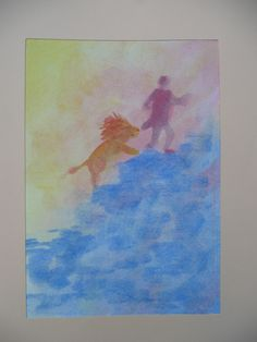 de koningszoon die nergens bang voor was Wet On Wet Painting, Art Education, Curriculum, Watercolour, School, Color, Watercolors, Water Colors, Resume