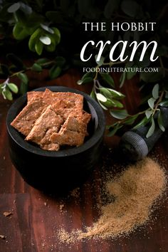 Ready for Hobbit Day on Sept 22? Add this recipe for cram to your party menu! http://inliterature.net/food-in-literature/2016/09/cram-the-hobbit.html