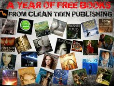 Win a year of FREE BOOKS from Clean Teen Publishing (my new publisher)